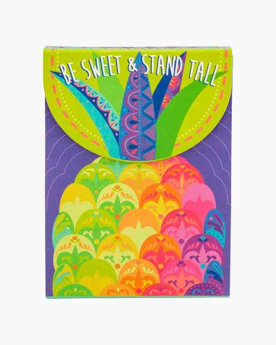 Be Sweet and Stand Tall Pineapple Purse Notepad