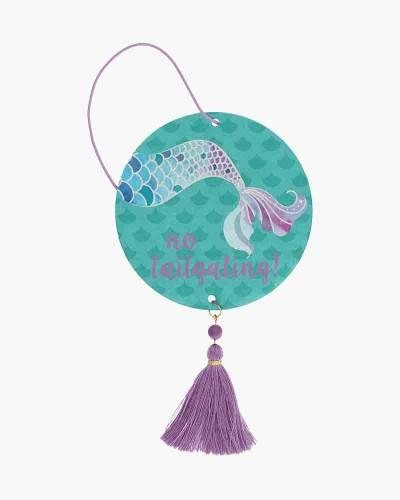 Mermaid Air Freshener with Tassel (Coconut Scent)