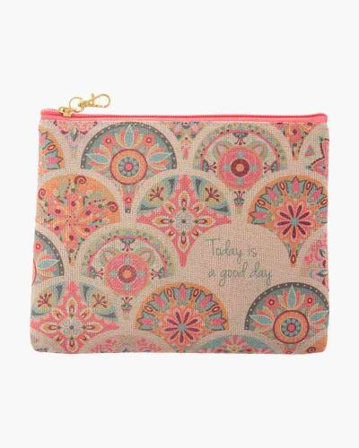 Pink Medallion Juco Carry All Pouch