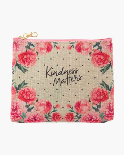 Pink Peony Juco Carry All Pouch
