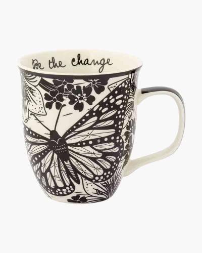 Butterfly Boho Ceramic Mug