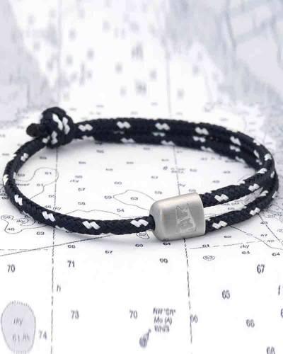 Cuttyhunk Bracelet in Navy