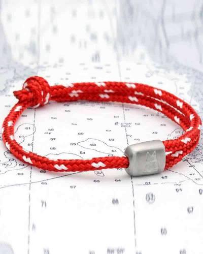 Cuttyhunk Bracelet in Club Red