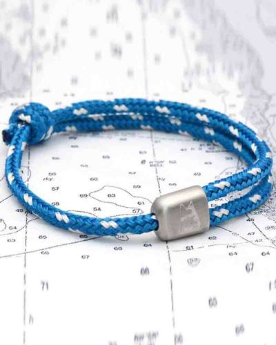 Cuttyhunk Bracelet in Atlantic Blue