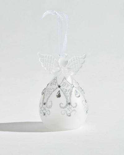 Exclusive Drops Angel Glass LED Ornament