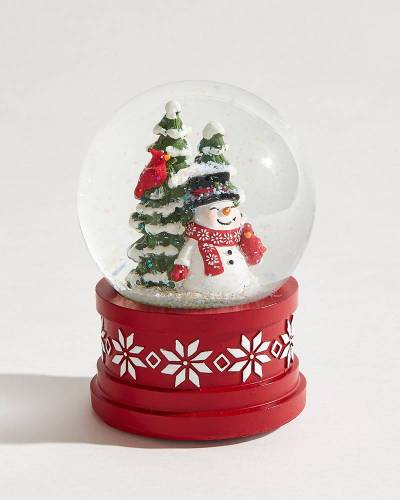 Exclusive Snowman Musical Snow Globe