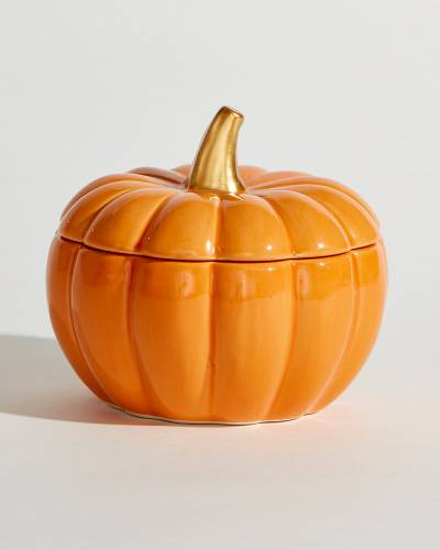 Exclusive Covered Pumpkin Candy Dish