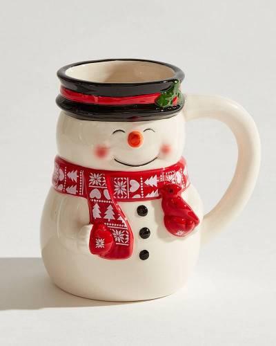Snowman Ceramic Mug