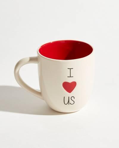 Exclusive Ceramic I Love Us Mug