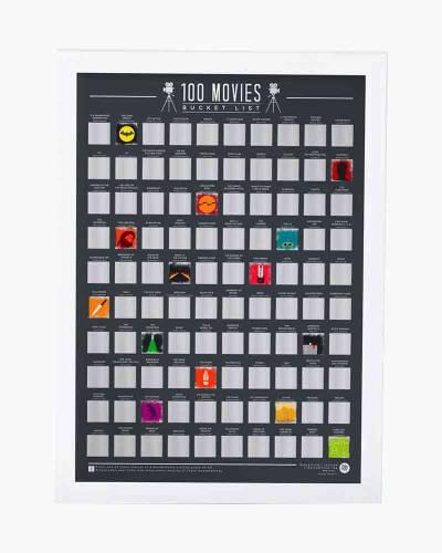 Movies Bucket List Poster