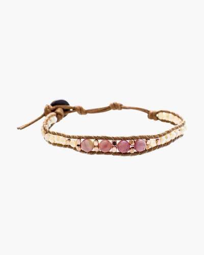 I Left My Heart in Sedona Rhodolite Bracelet