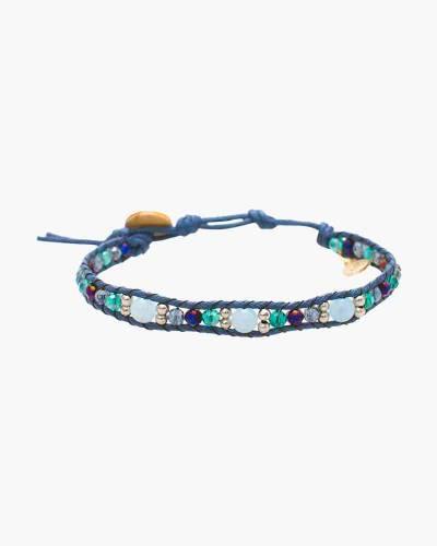 Low Tide Beaded Bracelet in Blue