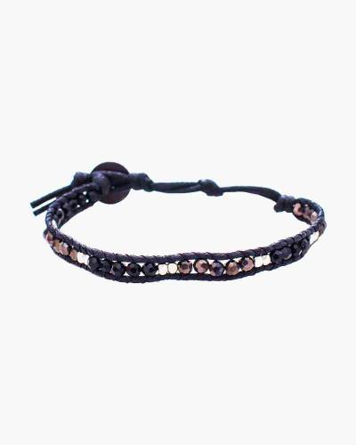 Holiday Collection Beaded Bracelet in Black