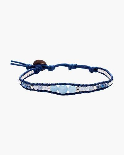 Holiday Collection Blue Pearl Beaded Bracelet