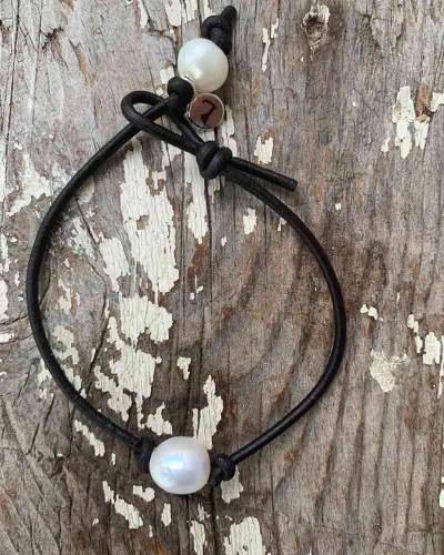 Original Cape Cod Pearl Bracelet in Black