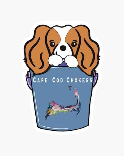 Bucket the Dog Sticker