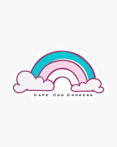Cape Cod Rainbow Sticker