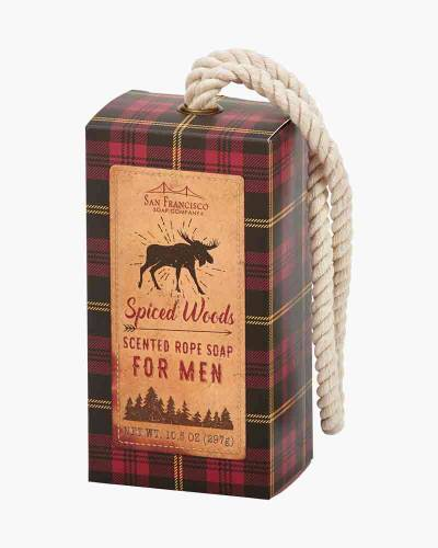 Spiced Woods Men's Rope Soap