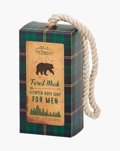 Forest Musk Men's Rope Soap