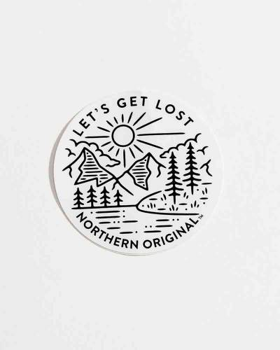 Exclusive Let's Get Lost Sticker