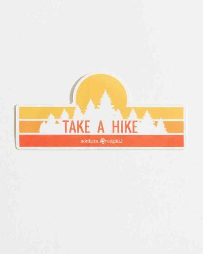 Exclusive Take a Hike Sticker