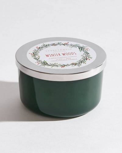 Exclusive Winter Woods 3-Wick Scented Candle