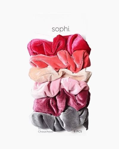 Velvet Scrunchies (Pack of 6)
