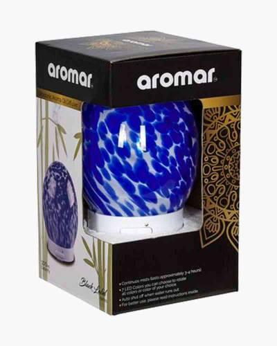 Spherical Blue Glass Ultrasonic Diffuser