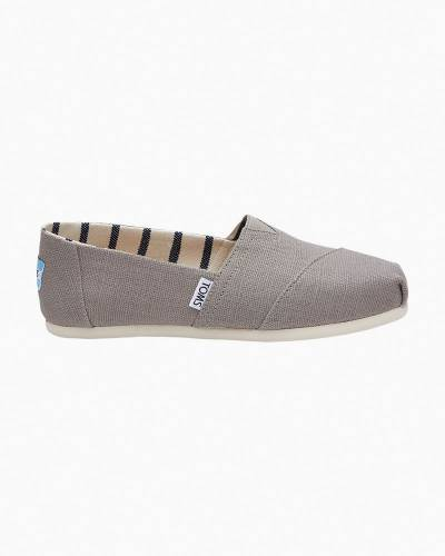 Classic Slip-On Canvas Shoes in Morning Dove
