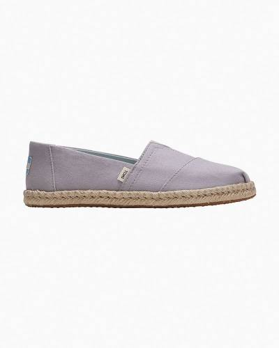 Slip-On Espadrilles in Plant Dyed Grey