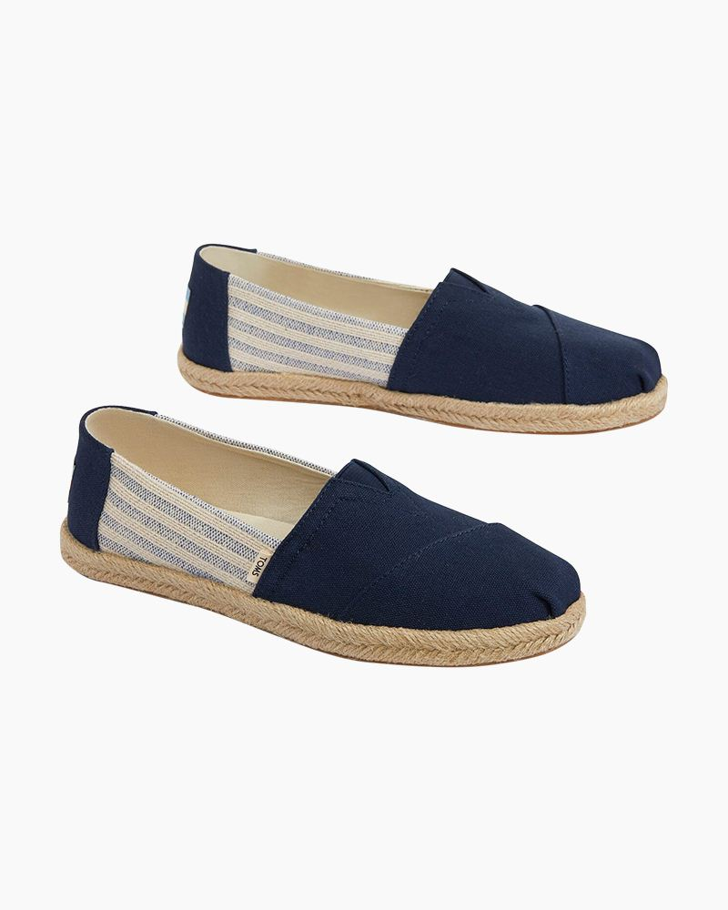 TOMS Classic Slip-On Canvas Shoes in
