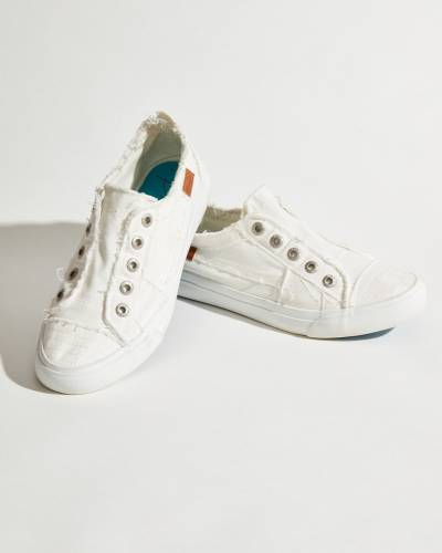 Play Sneakers in Ivory Canvas