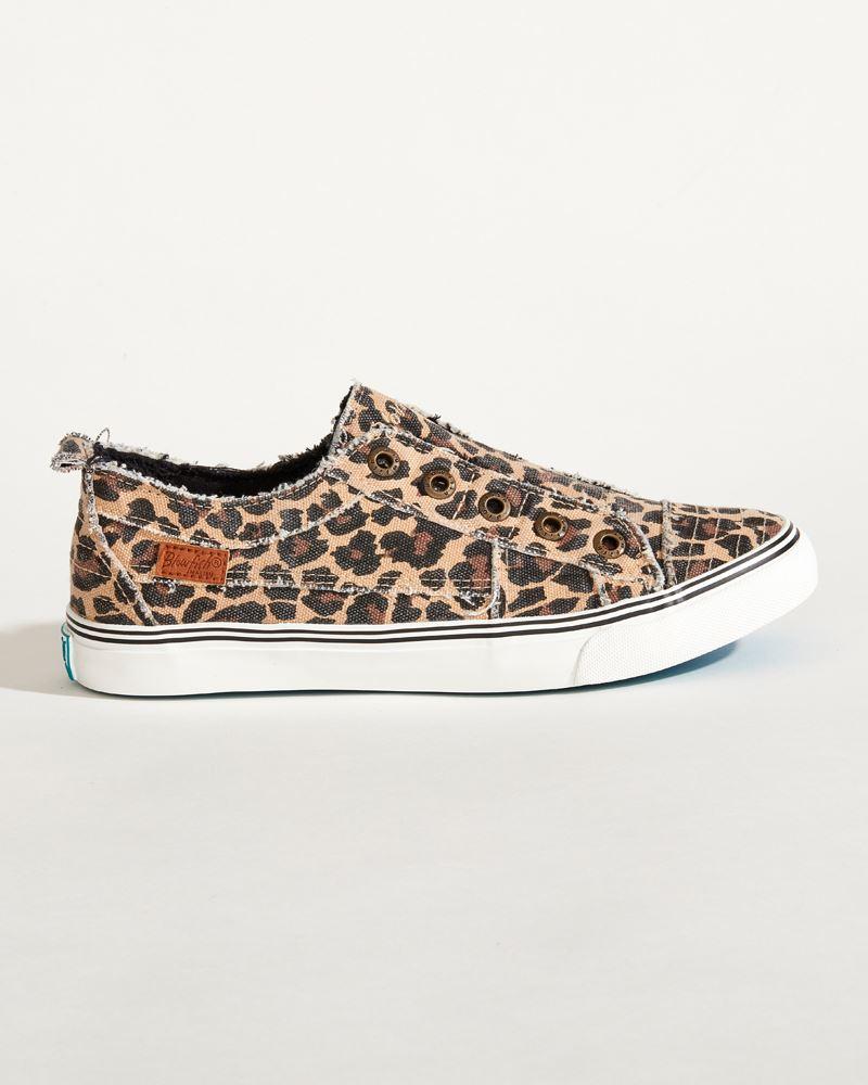 Blowfish Play Sneakers in Leopard Print