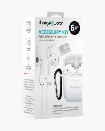 Accessory Kit for Apple AirPods in White