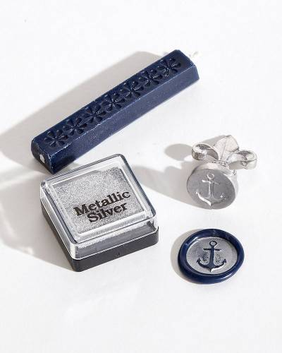 Anchor Wax Seal and Stamp Kit