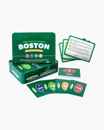 You Gotta Know Boston Sports Trivia Game