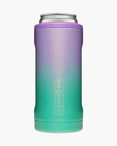 Hopsulator Slim Stainless Steel Can Cooler in Glitter Mermaid
