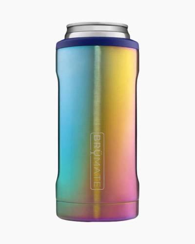 Hopsulator Slim Stainless Steel Can Cooler in Rainbow Titanium
