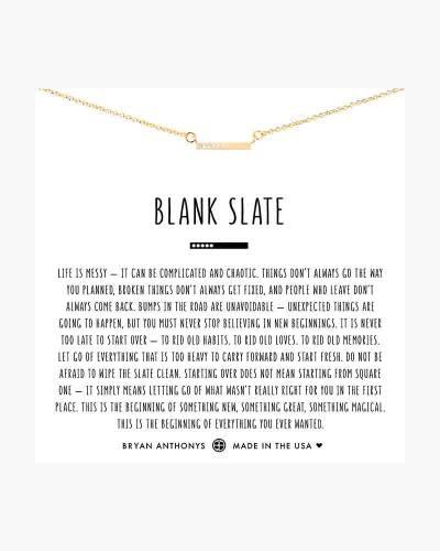 Blank Slate Necklace