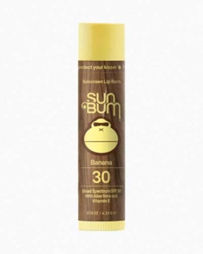 Banana Sunscreen Lip Balm (SPF 30)