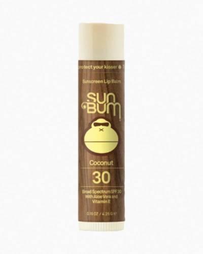 Coconut Sunscreen Lip Balm (SPF 30)
