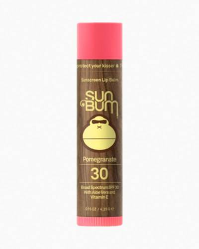 Pomegranate Sunscreen Lip Balm (SPF 30)