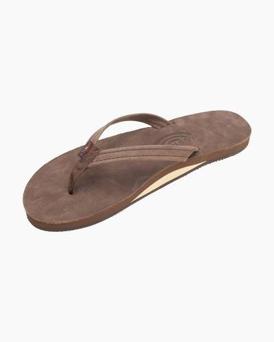 Women's Premier Leather Sandals in Expresso