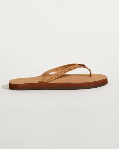 Women's Madison Leather Sandals in Sierra Brown