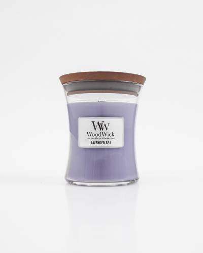 Lavender Spa Hourglass Jar WoodWick Candle