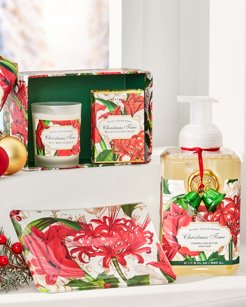 Michel Design Works Christmas Time Foaming Soap The Paper Store