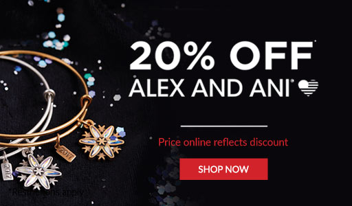 Shop Alex and Ani 20% off your Alex and Ani purchase