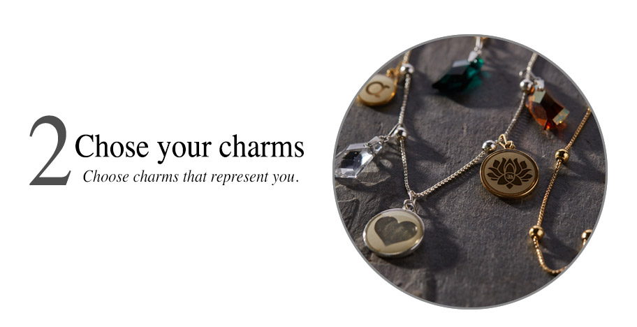 Alex and Ani Chain Station Step 2 Pick your charms
