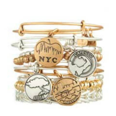 Alex and Ani Places We Love Collection