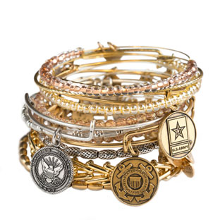 Alex and Ani Armed Forces Collection